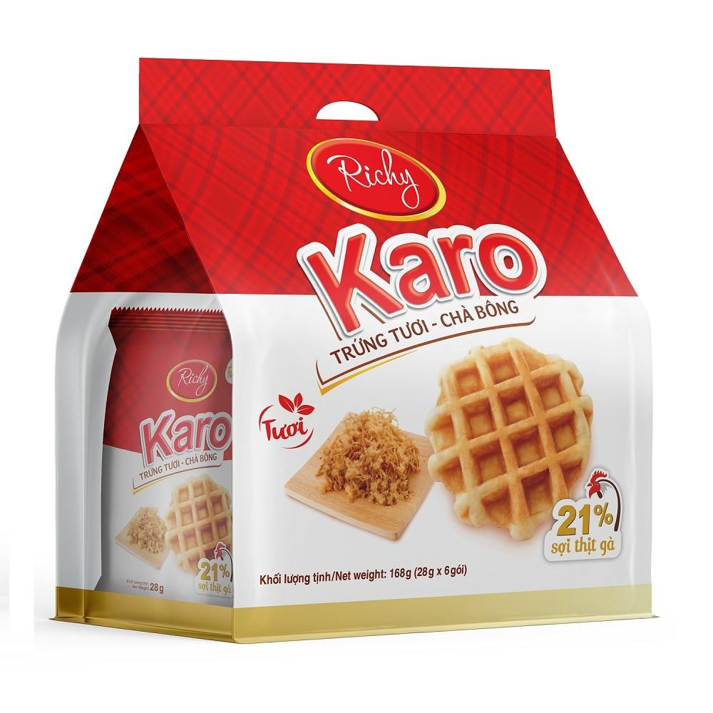 Bánh tươi Karo Richy Bịch 6 chiếc (26g/chiếc)