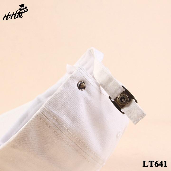 Nón lưỡi trai form đẹp - trắng LT641t