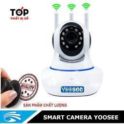 [Trợ Giá] Camera Wifi 3 Anten Giám Sát ĐT Trực Tuyến - BH 12 THÁNG