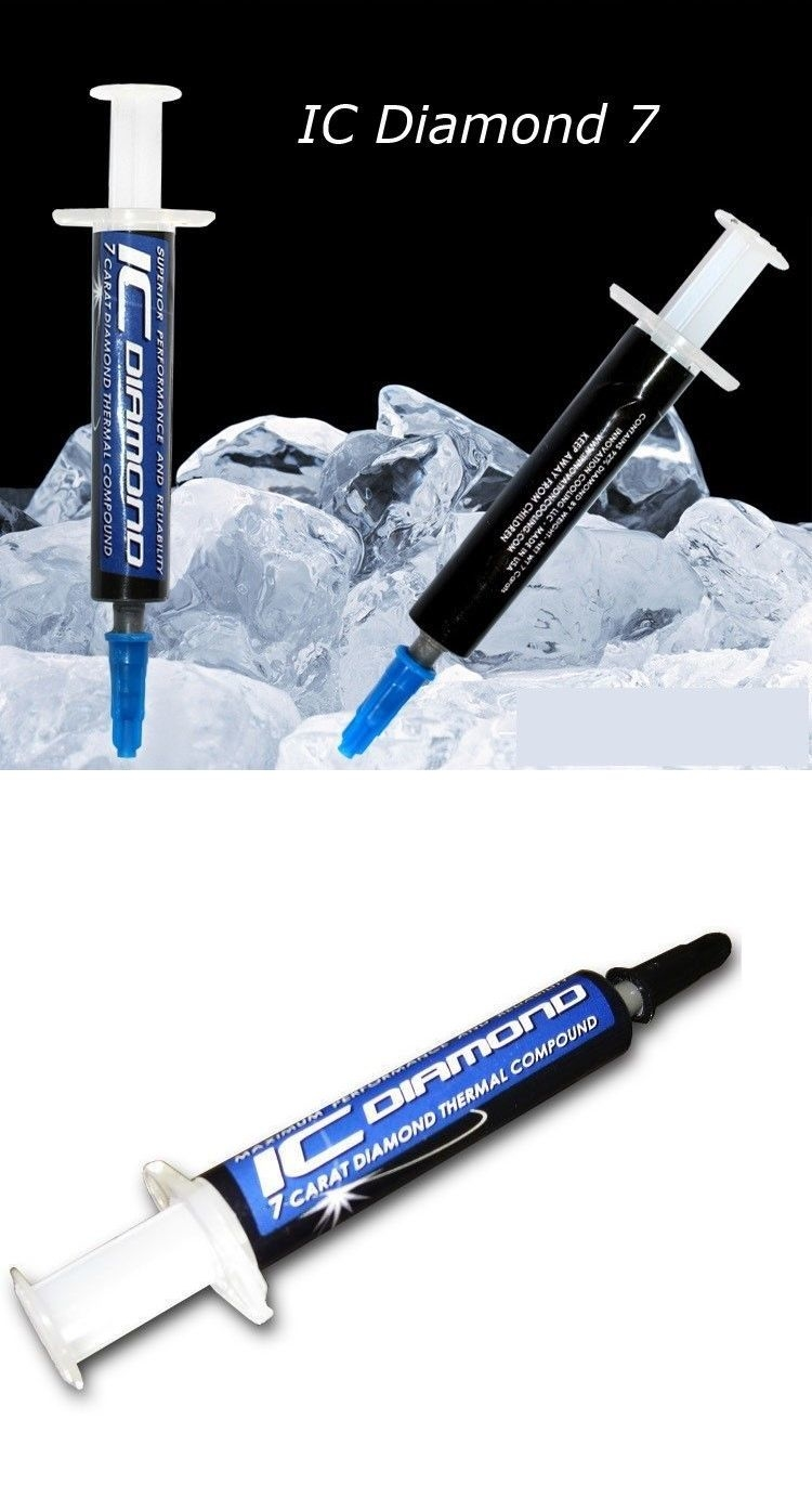 Keo tản nhiệt IC Diamond 7 Carat 1.5g
