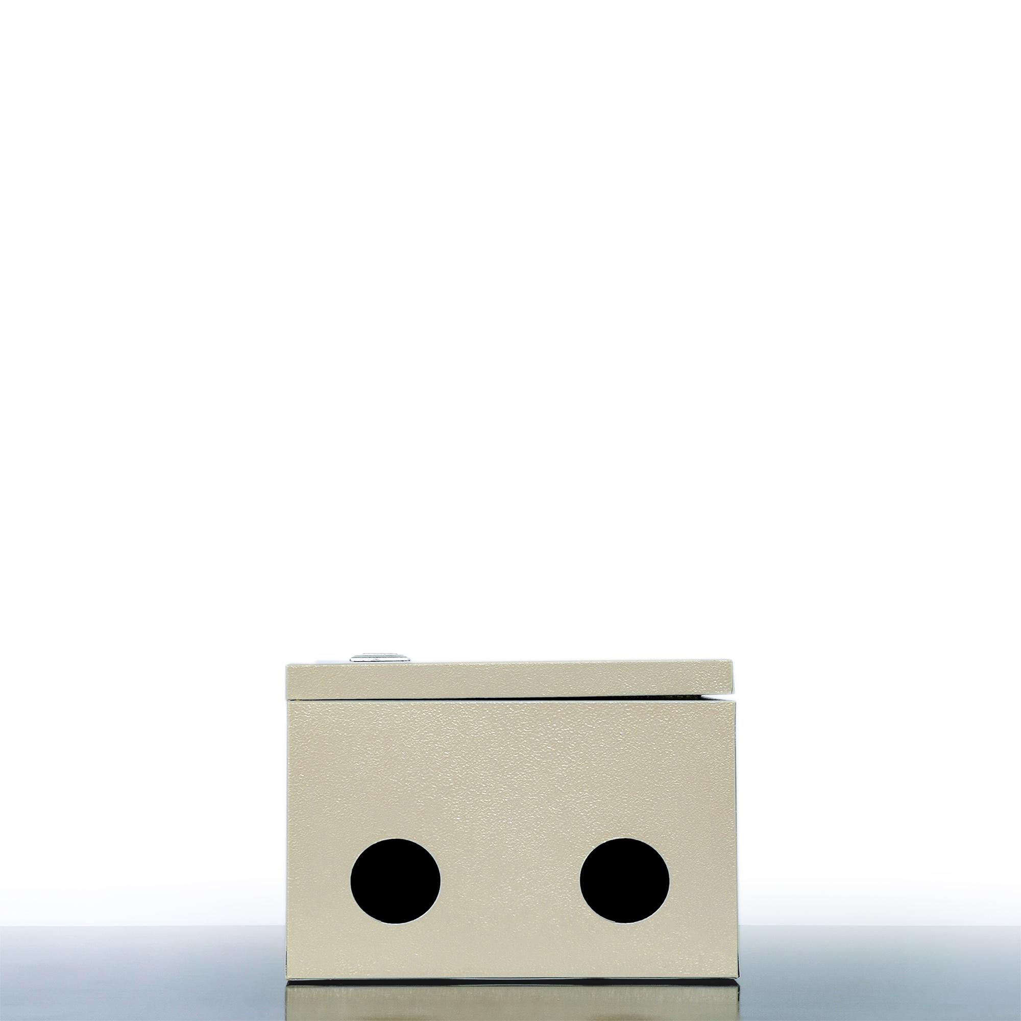 VỎ TỦ ĐIỆN SẮT - MÀU KEM (30x40x20 cm)