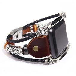 Dây đeo iwatch - dây da đồng hồ dành cho đồng hồ apple watch 38mm/40mm SAM Leather SAMDD03