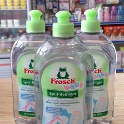 Nước rửa Bình sữa và đồ dùng cho bé Frosch (500ml)