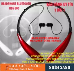 Tai nghe không dây Bluetooth 4.0 ULTRA S8, tai nghe thể thao siêu bass, new trent 2019 - Bảo hành 1 đổi 1
