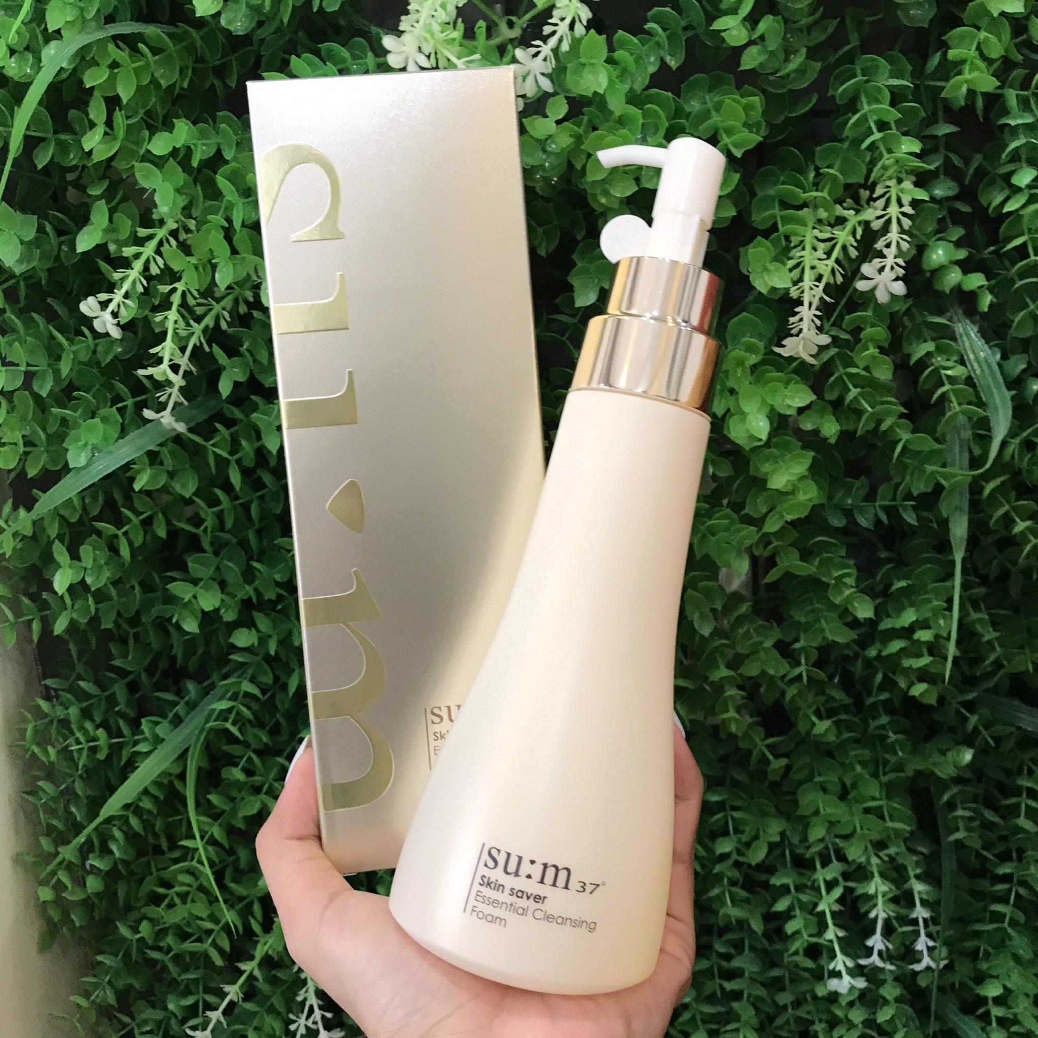 Sữa rửa mặt dạng gel Su:m37 Skin Saver Cleansing Foam 250ml