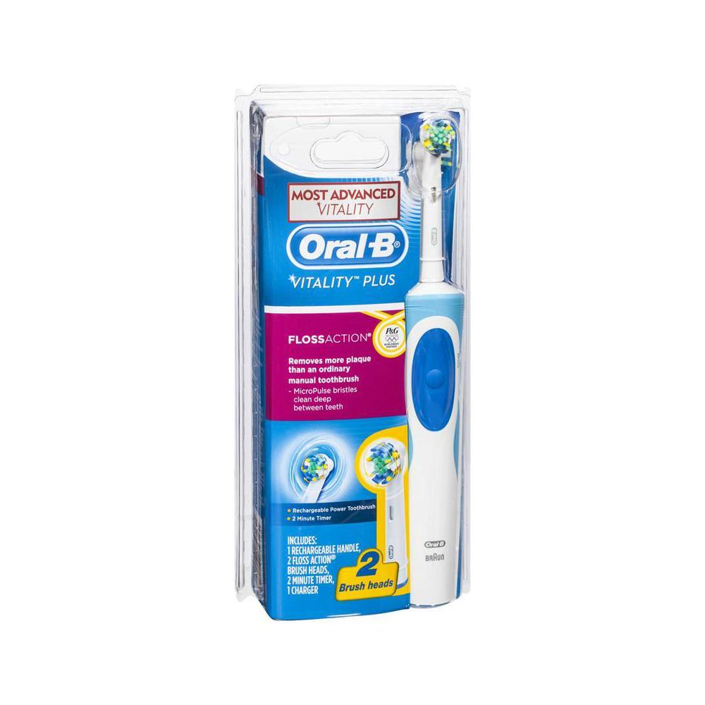 Bàn chải điện Oral-b Braun dòng Floss Action (làm sạch sâu các kẽ răng)
