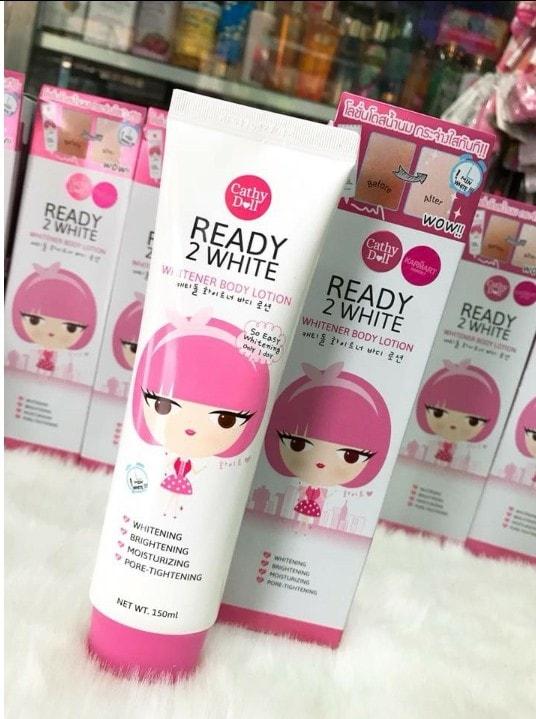 Dưỡng trắng da toàn thân Ready 2 White Body Lotion 150ml - Thái Lan