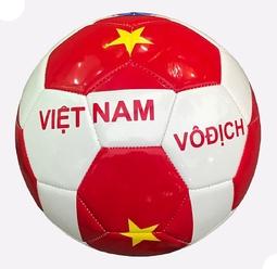 Quả Bóng Đá Động Lực Ebet Cờ Việt Nam Vô Địch Size 4