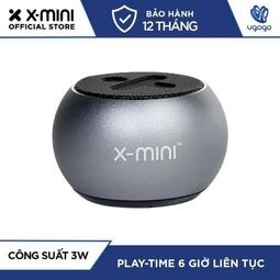 Loa Bluetooth X-mini™ CLICK 2 (Xám)- Nhà Phân Phối chính hãng.
