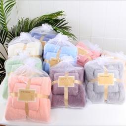 Set khăn tắm & khăn mặt siêu mềm mịn cho gia đình
