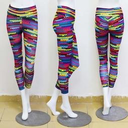 quần legging gợn sóng màu sắc Mã: QB687
