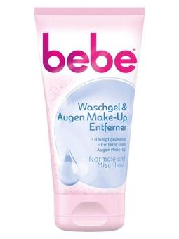 Sữa Rửa Mặt Bebe Waschgel & Augen Make Up Entferner, 150 ml