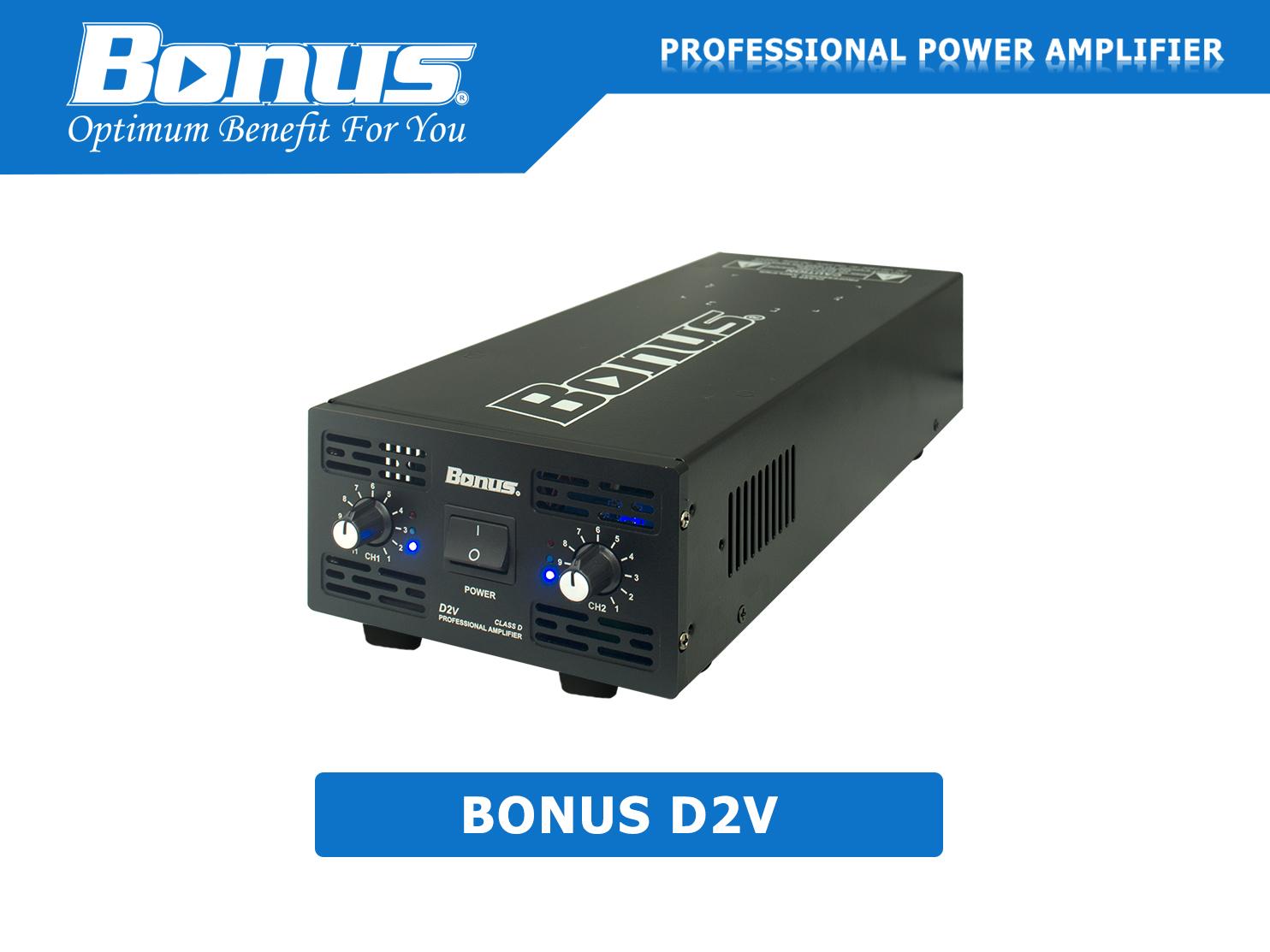 Cục đẩy - Main power Bonus Audio D2V