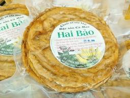 500gr chuối ép khô đặc sản Cà Mau