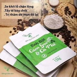Tinh bột cám gạo & cà phê