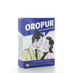 [Chính hãng từ Pháp ] Viên Uống Chống Hôi Miệng Oropur 50 viên