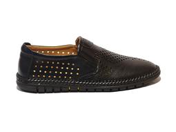 Giày lười, giày mọi nam Da Bò Đục Lỗ OML005D