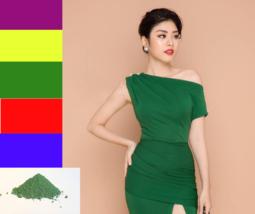 Màu nhuộm quần áo màu xanh rêu