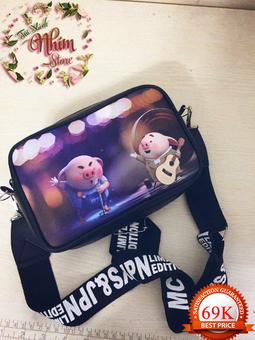 Túi hoạt hình Heo dễ thương