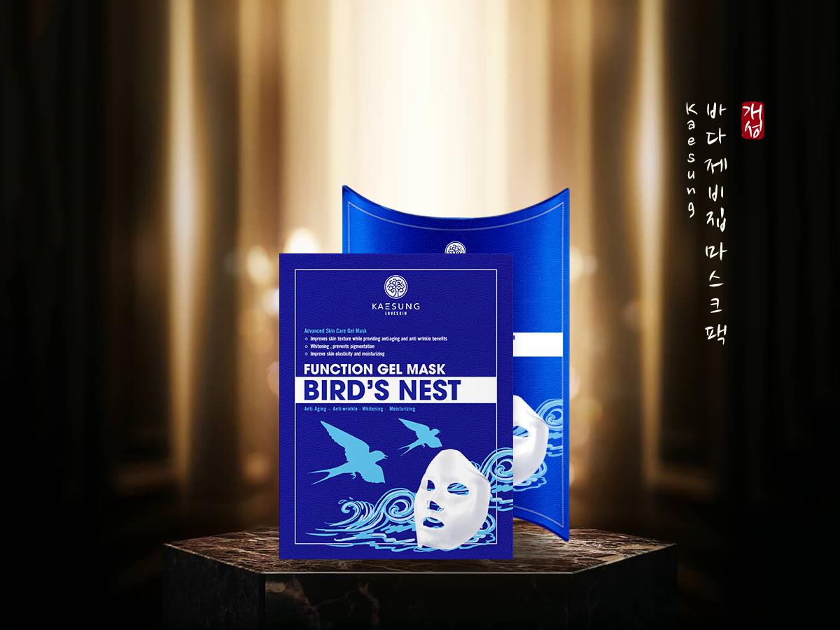 Function Gel Mask Bird's Nest - Mặt Nạ Yến