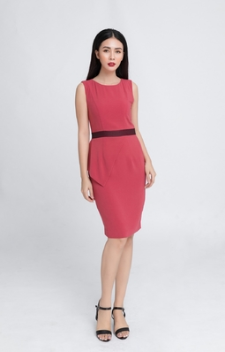 Đầm ôm HeraDG SDC18120 màu hồng