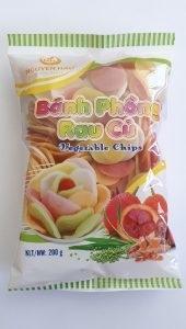 Bánh phồng Rau củ (Combo 2 gói 200g)