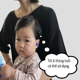 Đồ bịt tai mũi bơi chống nước, chống ồn cho trẻ em