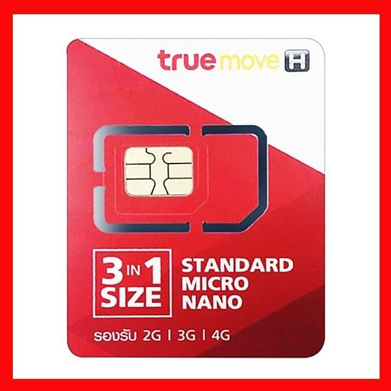 Sim Thái Lan Truemove Có Sẵn 9GB Data Và 100Bath 8 ngày - Sim Du Lịch Và Công Tác Thái Lan