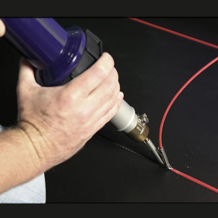 Máy hàn sàn nhựa LST 1600W - Máy hàn sàn Vinyl, sàn nhựa PVC.