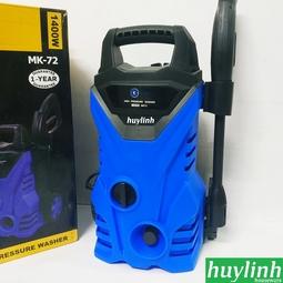 Máy xịt rửa xe Kachi MK72 - 1400W - Tặng cút lọc rác giá 30.000