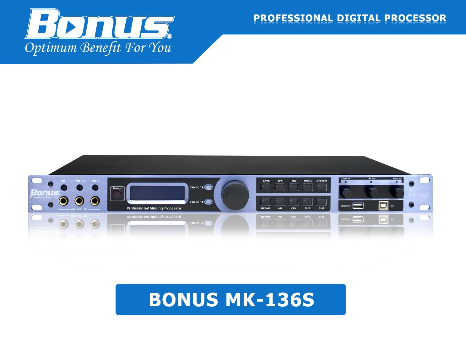 Vang số - Mixer karaoke Bonus Audio MK136S