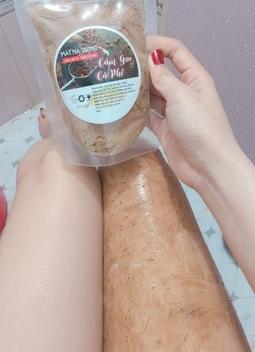 Bột Cám Gạo Cà Phê Handmade Nguyên Chất