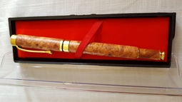 Bút Bi gỗ Nu Huyết Long