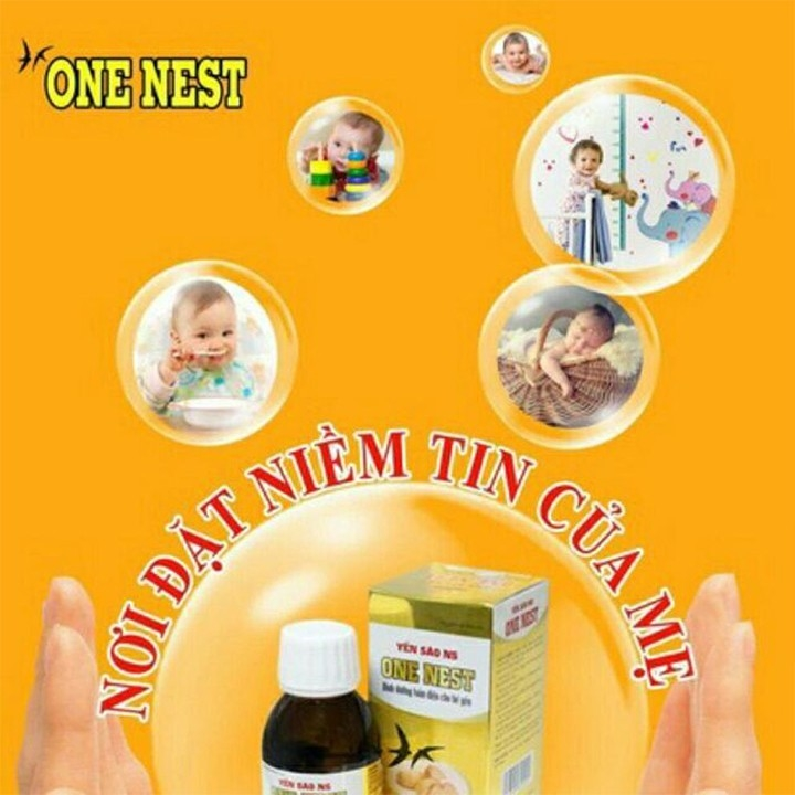 Siro Yến Sào NS One Nest - Bé Ăn Ngon Ngủ Ngon Phát Triển Chiều Cao