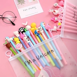Combo Bút Bi Nước Cute