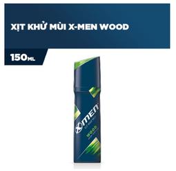 Xịt khử mùi X-men Wood 150ml - Date mới nhất