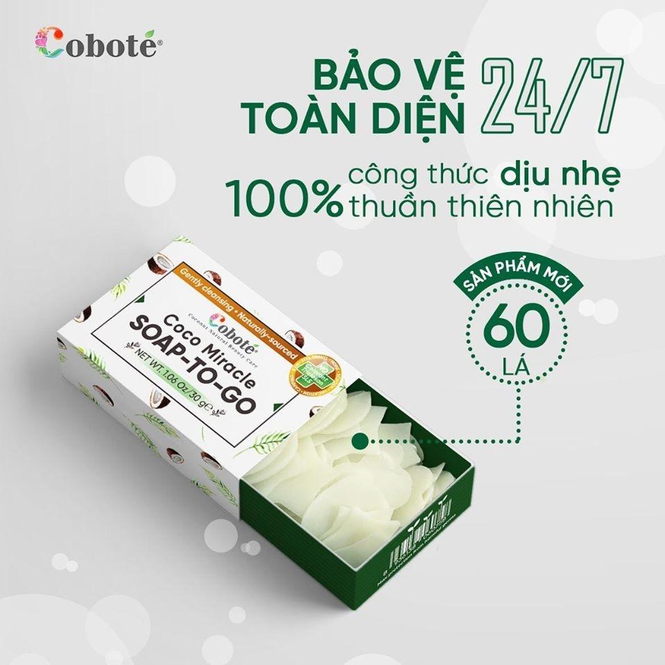 XÀ PHÒNG LÁ MANG ĐI - Coco Miracle Soap to Go