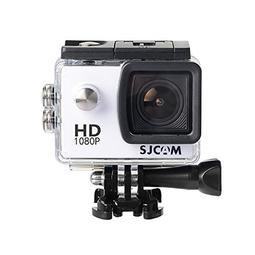 Camera Hành Động Thể Thao Ngoài Trời Kèm Vỏ Chống Nước Khi Lặn Camera Hành Trình Giá Rẻ Cho Xe Máy Camera Hành Trình Tốt A1S 12MP Full HD 1080 USB 2.0 HDMI - Camera 1080 A1S Màu Trắng
