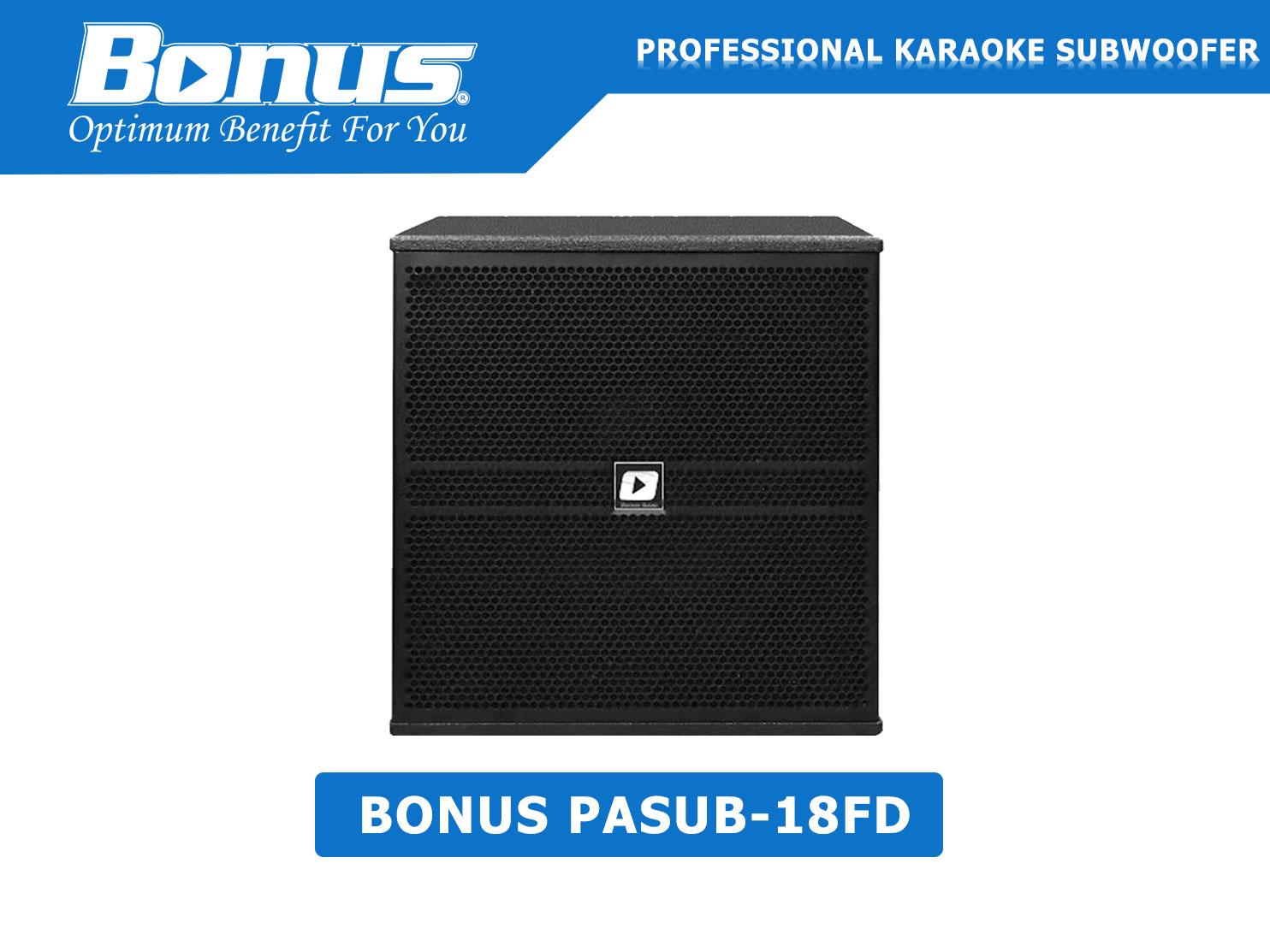 Loa Sub điện Bonus Audio PASUB-18FD