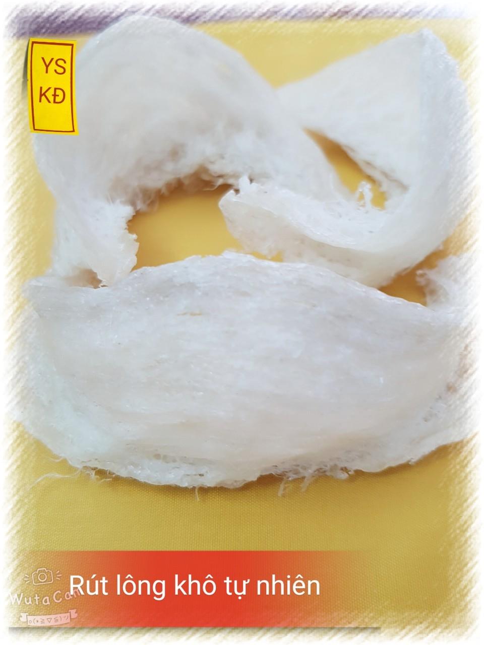 Tổ Yến sào rút lông khô Cần giờ  - Khánh Đan 100g