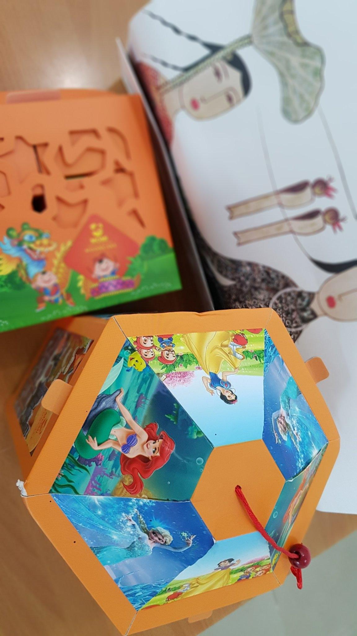 Bánh Trung thu MOMI - Hộp Đèn lồng Elsa 4 bánh