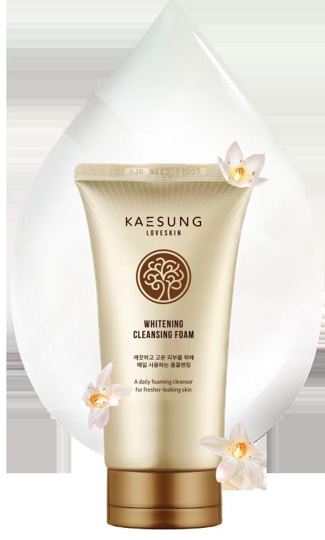 Sữa Rửa mặt Tạo Bọt Dưỡng Trắng Kaesung Loveskin