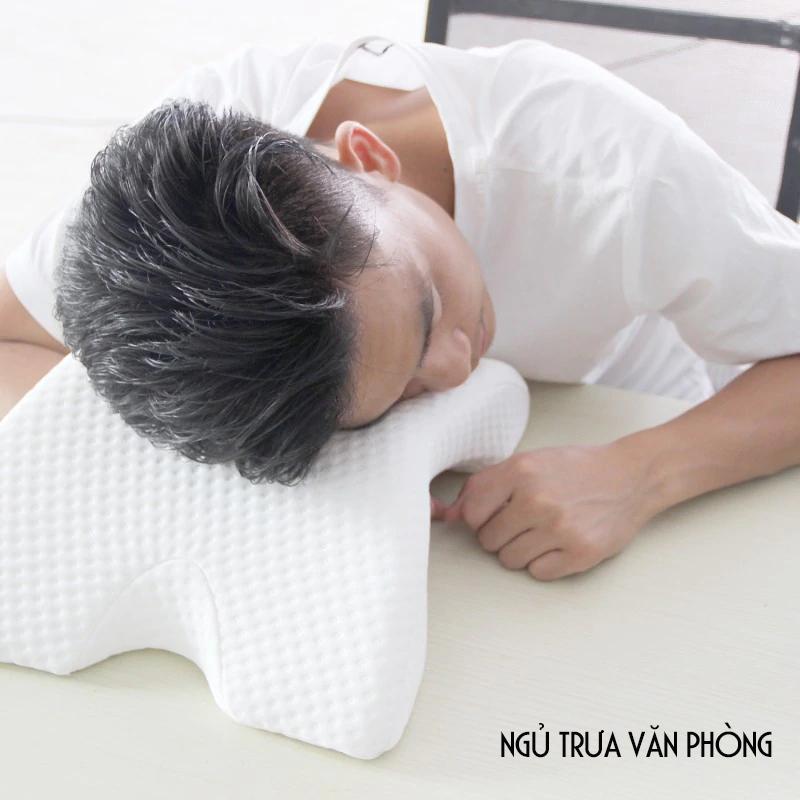 Gối ngủ luồn tay tình yêu Memory Foam