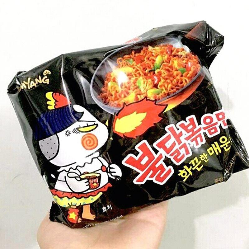 Mì cay Samyang vị truyền thống đặc biệt - Combo 4 lốc 5 gói mì