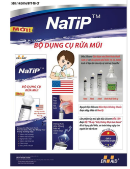 Dụng Cụ Rửa Mũi Natip Xilanh