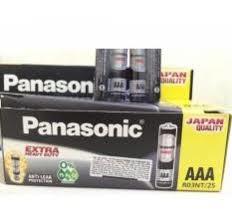 Bộ 4 Viên Pin AAA Panasonic Than Carbon cao cấp - Huy Tưởng