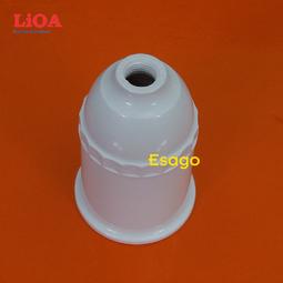 Đui đèn LiOA đui xoáy E27 - Màu trắng