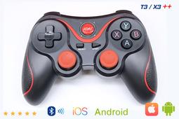 Tay Cầm Chơi Game Bluetooth Terios T3 / X3 ++ Kèm Giá Đỡ Điện Thoại