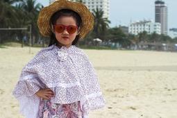Áo chống nắng cho bé gái cánh dơi T&K hoa nhí 4-6 tuổi