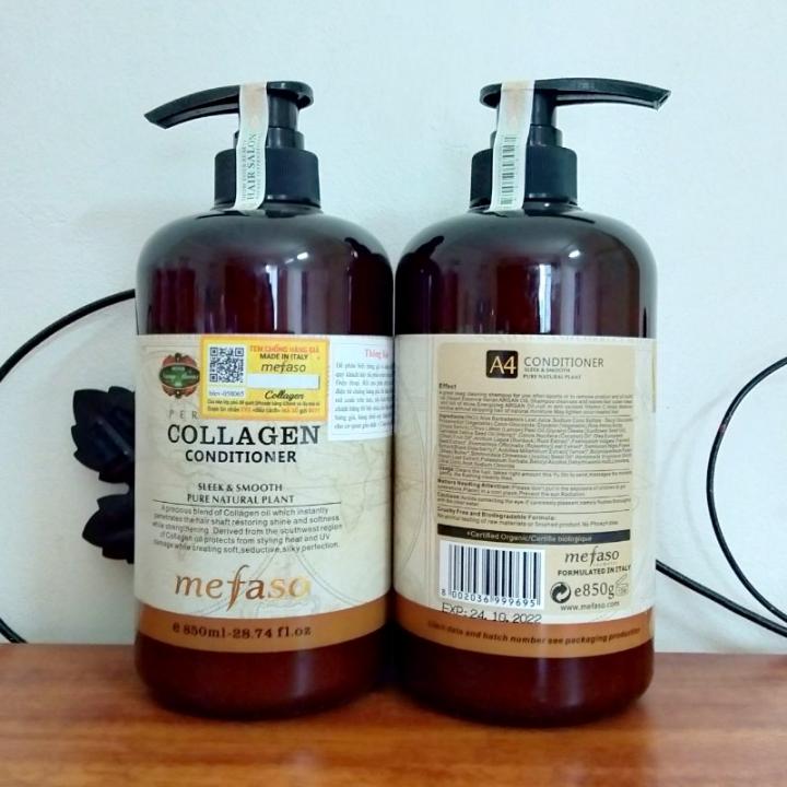 Bộ gội xả Collagen Mefaso 850ml x2
